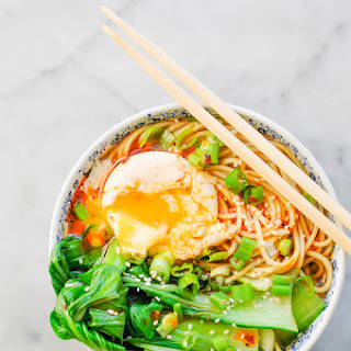Miso Ramen with Bok Choy Recipe