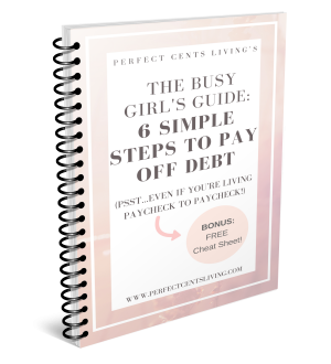 6 Simple Steps to Pay off Debt