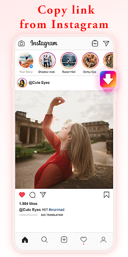 Video-Downloader für Insta - Repost für Instagram-Screenshots 9