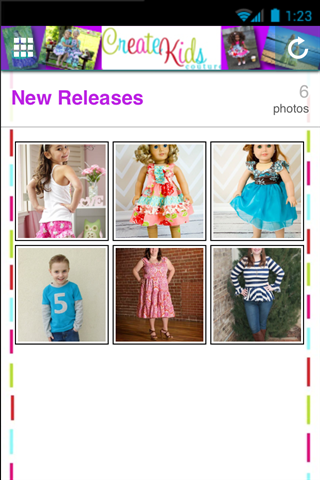 Create Kids Couture- screenshot