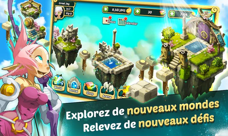 android Wakfu Raiders Screenshot 7