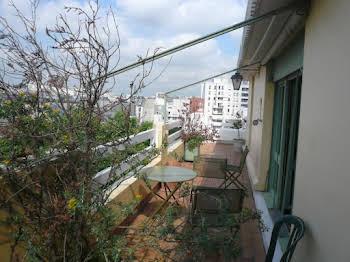 Appartement meublé 2 pièces 56,76 m2