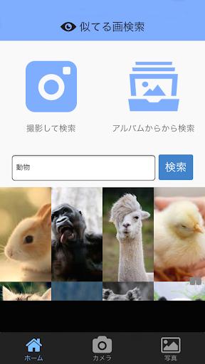 似てる画検索