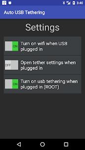 Auto USB Tethering 1.0 APK Mod Latest Version 2