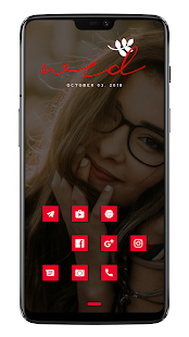 Red+ Icon Pack Screenshot