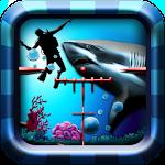 Shark Hunting Icon