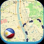 Philippines Manila Offline Map Icon