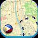 フィリピンマニラオフラインマップ