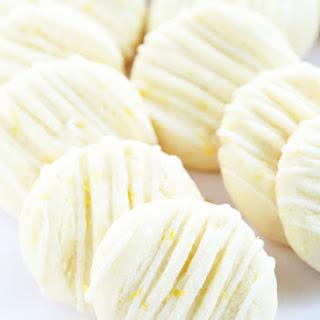 Gluten Free Lemon Meltaway Cookies.