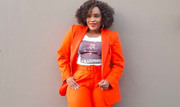 Actress and motivational speaker Ayanda Borotho has been sharing some wisdom on her social pages.