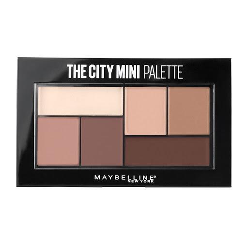 Sombra Maybelline City Mini Palette Matte 6 Tonos