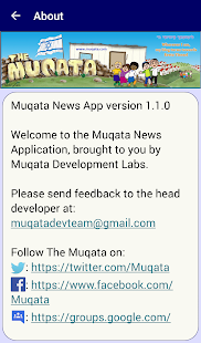 Muqata News App- screenshot thumbnail