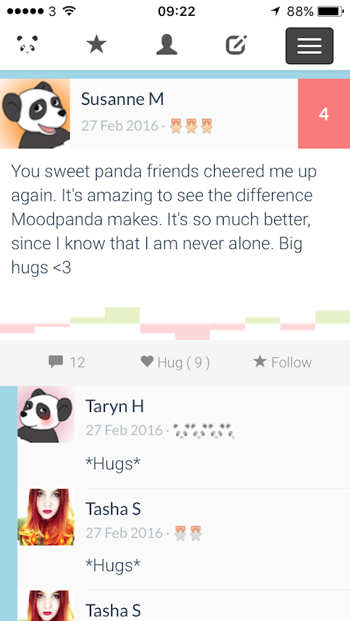 MoodPanda - Mood Diary Tracker- screenshot