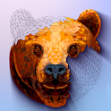 POLYGON : Poly Coloring Book by Numbers icon