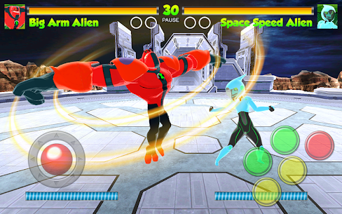 Hero Alien Force Ultimate Arena Mega Transform War 3