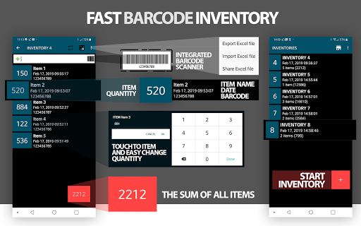Easy Barcode inventory and stock-taking  screenshots 2