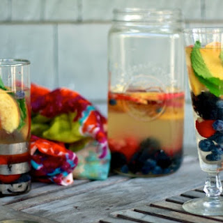 Not Your Average Salads and White Wine Sangria