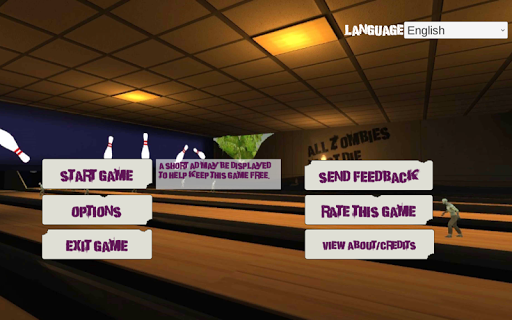 10 Zombie Bowling screenshots 2