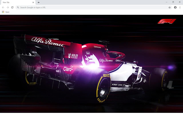 F1 2020 Wallpapers and New Tab