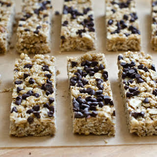 Chewy Chocolate Chip Granola Bars.