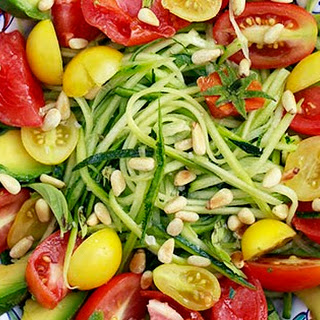 Raw Zucchini Salad Recipe