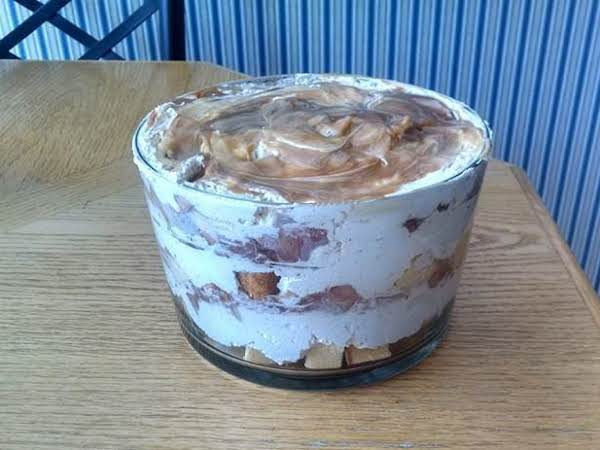 Caramel Red Wine Apple Trifle Recipe