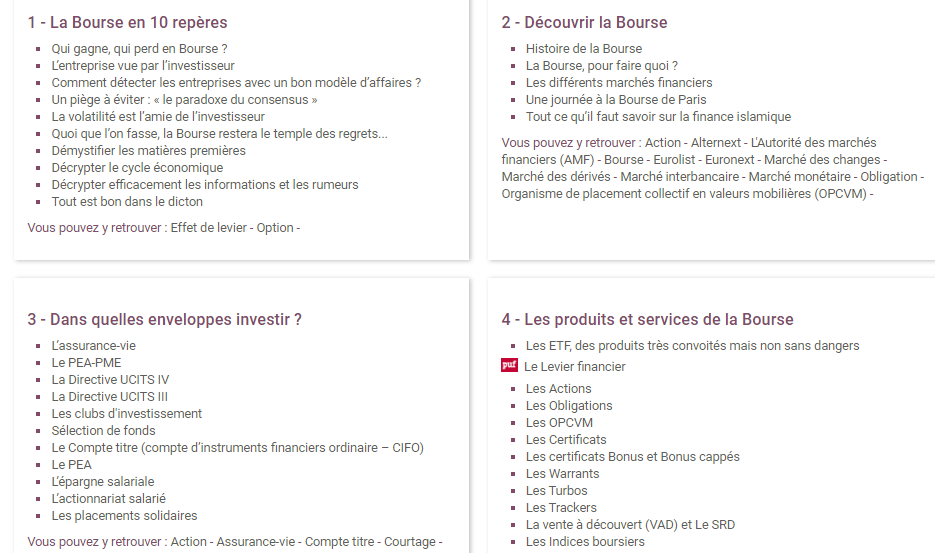 Formation Easybourse