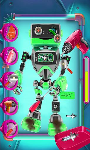 crazy robot repair: fixing & repairing game screenshot 3