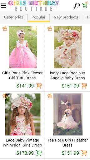 Baby 1st Birthday Clothings