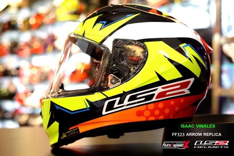 หมวกกันน็อค LS2 FF323 Arrow Replica Isaac Vinales