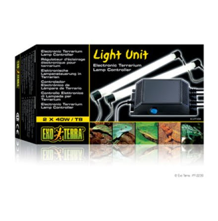 ExoTerra Light Unit 2x40W Lysrörshållare