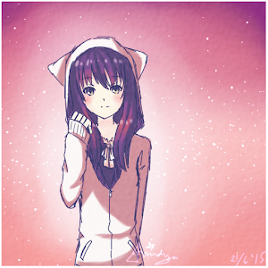 Cute Girl Anime Wallpaper Android Apps on Google Play