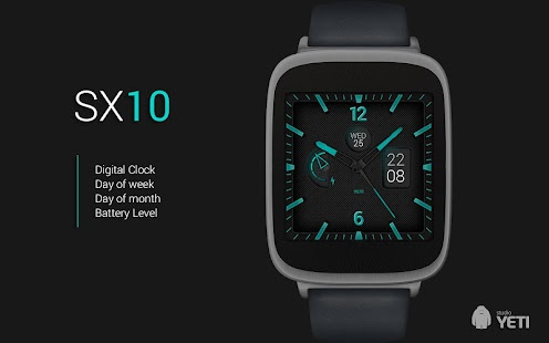 Zifferblatt Watch Face - SX10 Screenshot