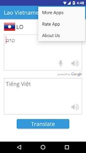 Lao Vietnamese Translator - náhled