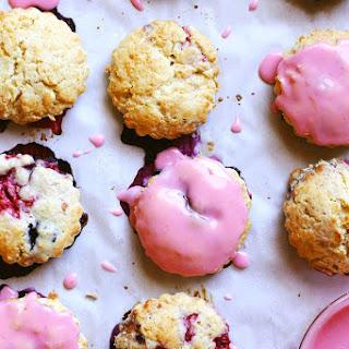 Berry Cream Scones.