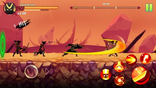 Stickman Ninja : Legends Warrior - Shadow Game RPG  screenshots 6
