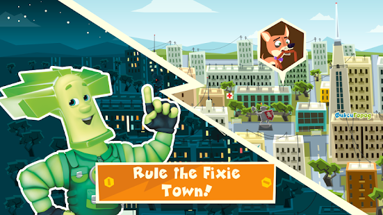 The Fixies Town Games Free- screenshot thumbnail