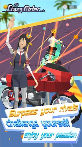 Code Triche Crazy Rider APK MOD (Astuce) screenshots 3