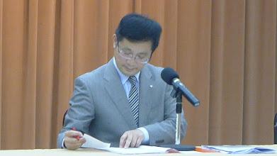 Photo: 6月14日協調會主席周副議長有條不紊的分析案情