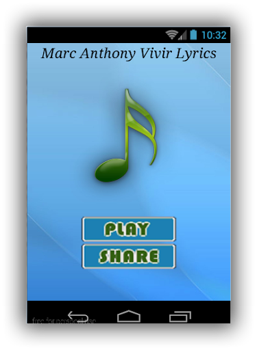 Marc Anthony Vivir Lyrics