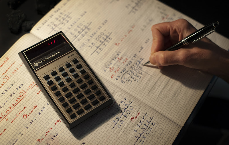 Texas Instruments TI-30 di Albertino