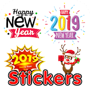 New Year 2019 Stickers for WhatsApp: WAStickerApps