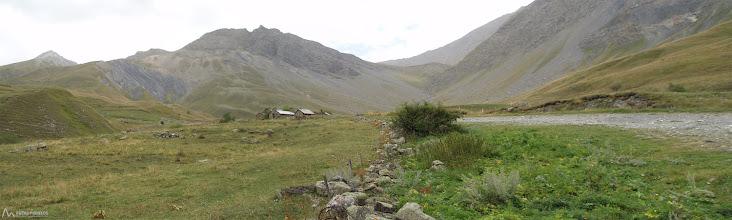 Photo: Vista panoràmica con el valle por donde tenemos que subir