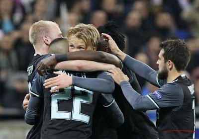 Lyon-Ajax eindigde op 3-1
