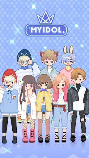 MYIDOL (#Dress up #BoyGroup #k-star #k-pop)  screenshots 2