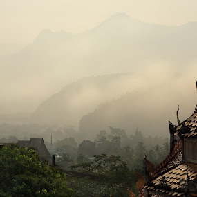 Steam by Mishel Breen - Landscapes Travel ( hong, haze, mountain, range, peak, tropical, thailand, thai, valley, landscape, highland, inspiring, nature, mae, serenity, slope, idyllic, asia, misty, terrain, hill, beautiful, far, atmosphere, forest, aerial, son, scenic, overcast, morning, paradise, dusk, smoke, rural, foggy, dawn, fog, sunset, background, cloud, silhouettes, high, view, sunrise, eco, early, mist )