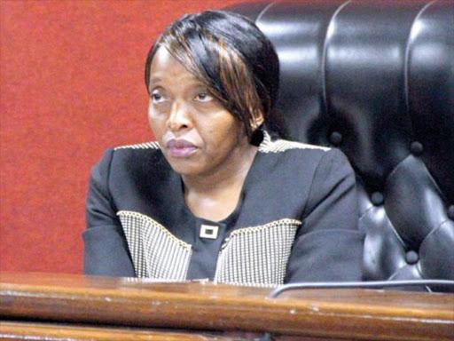 Milimani chief magistrate Martha Mutuku.