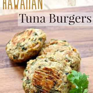 Hawaiian Tuna Burgers.