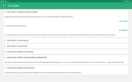 Play Services Info & Utility screenshot 7
