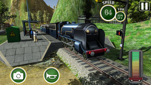 Fast Euro Train Driver Sim: Train Games 3D 2020 android2mod screenshots 8